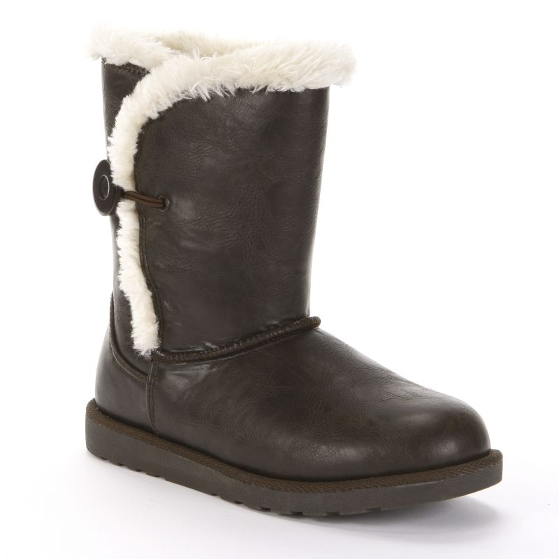 Womens Faux-Fur Boots - Shoes Shoes | Kohlu0026#39;s