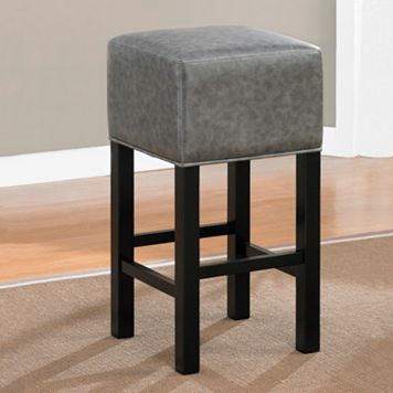 American Heritage Billiards Delmar Black Bar Stool