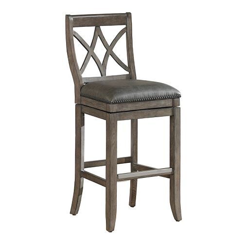 American Heritage Billiards Hadley Swivel Bar Stool