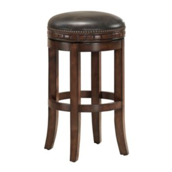 American Heritage Billiards Sonoma Swivel Bar Stool