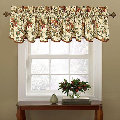 "Waverly Felicite Window Valance - 50"" x 15"""