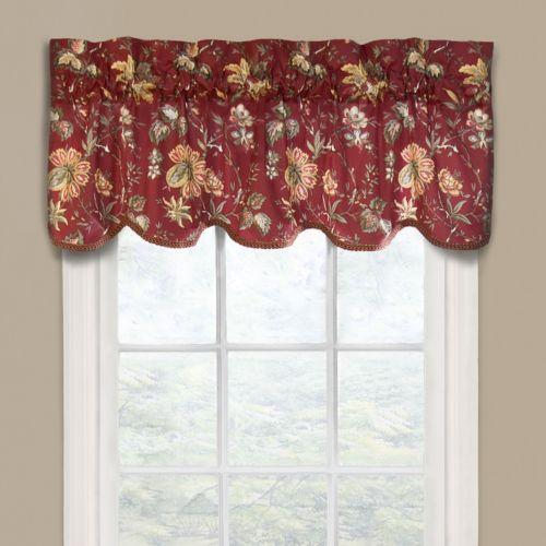 Waverly felicite window valance 50 x 15