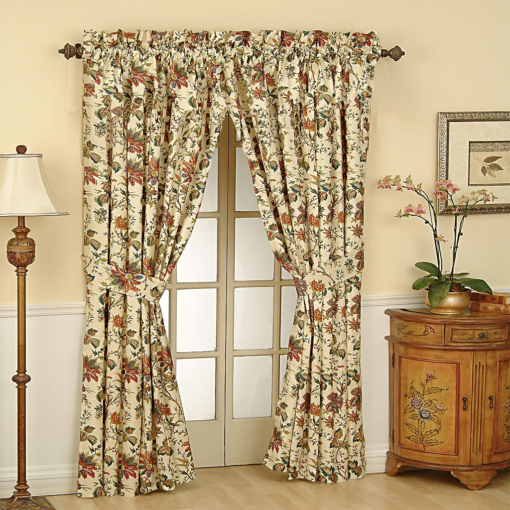 Waverly Felicite Window Curtain - 50'' x 84''