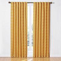 Waverly Lovely Lattice Window Panel
