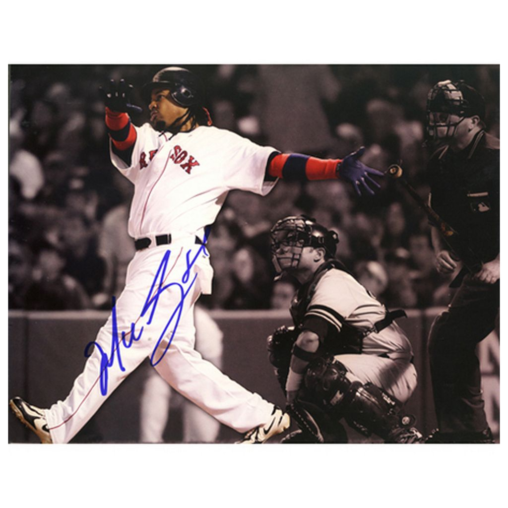 Steiner Sports Manny Ramirez Home Run vs. Yankees 8'' x 10'' Signed Photo