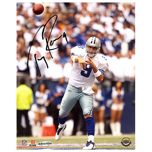 Steiner Sports Tony Romo Passing 8'' x 10'' Signed Photo