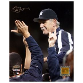 Steiner Sports Jim Leyland 2006 ALDS Clebration 8'' x 10'' Signed Photo