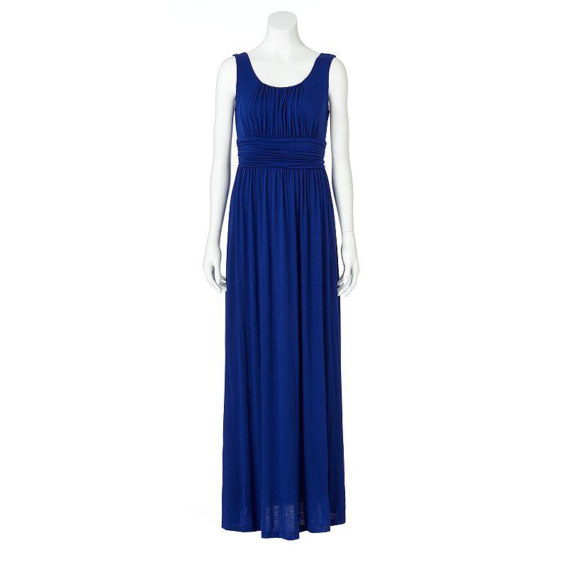ab studio ruched maxi dress women 39 s