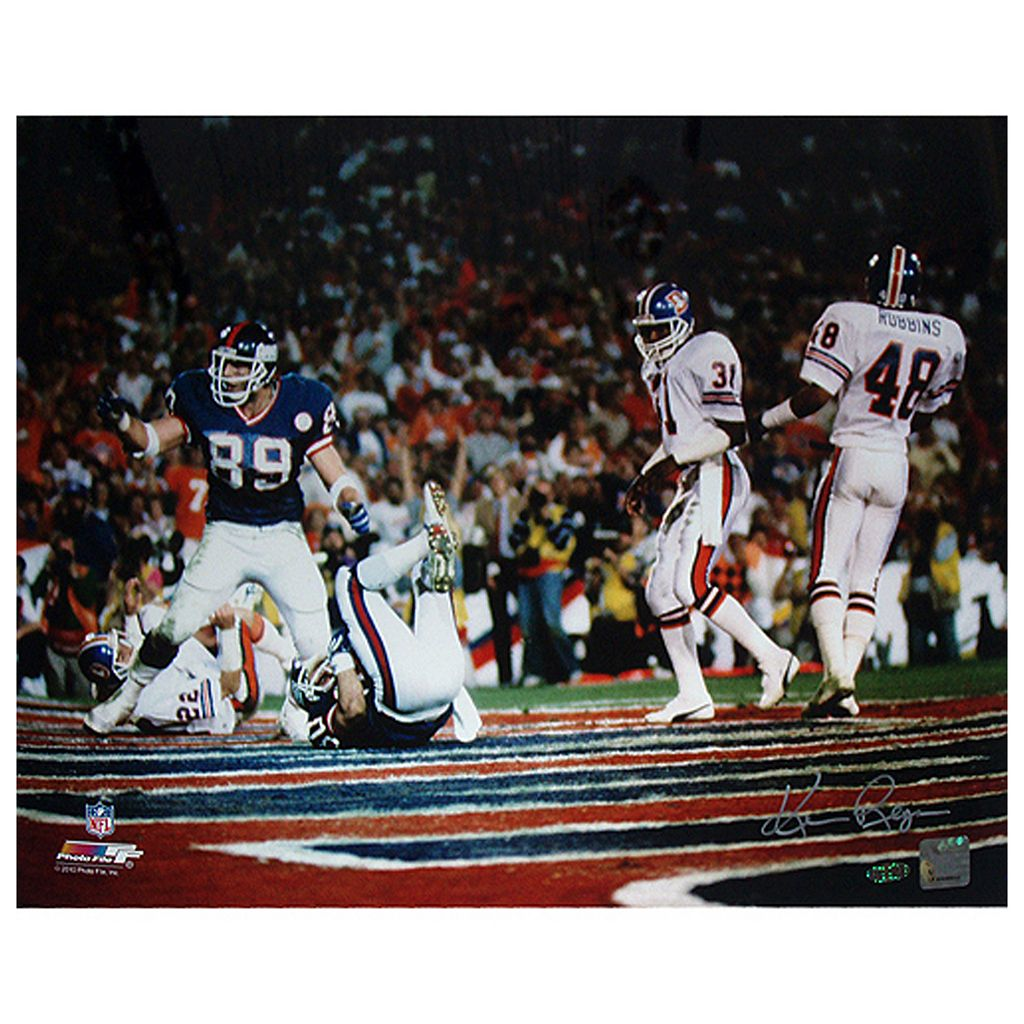 Steiner Sports Mark Bavaro 16'' x 20'' Photo Signed by Photographer Ken Regan