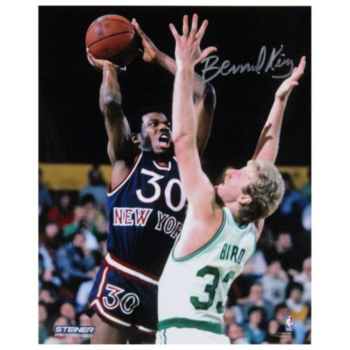 Steiner Sports Bernard King Jumper Over Larry Bird 8