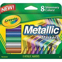 Crayola 8 pkMetallic Markers