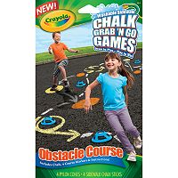 Crayola Chalk Grab 'N Go Games Obstacle Course