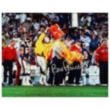 Steiner Sports Bill Parcells Super Bowl XXI Gatorade Shower 8'' x 10'' Signed Photo