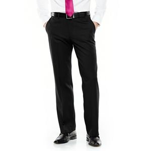 Van Heusen Mens Premium No Iron Straight Fit Flat Front Pant