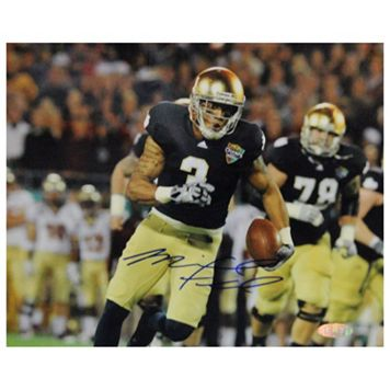 Steiner Sports Michael Floyd Running During Champs Sports Bowl 8'' x 10'' Signed Photo