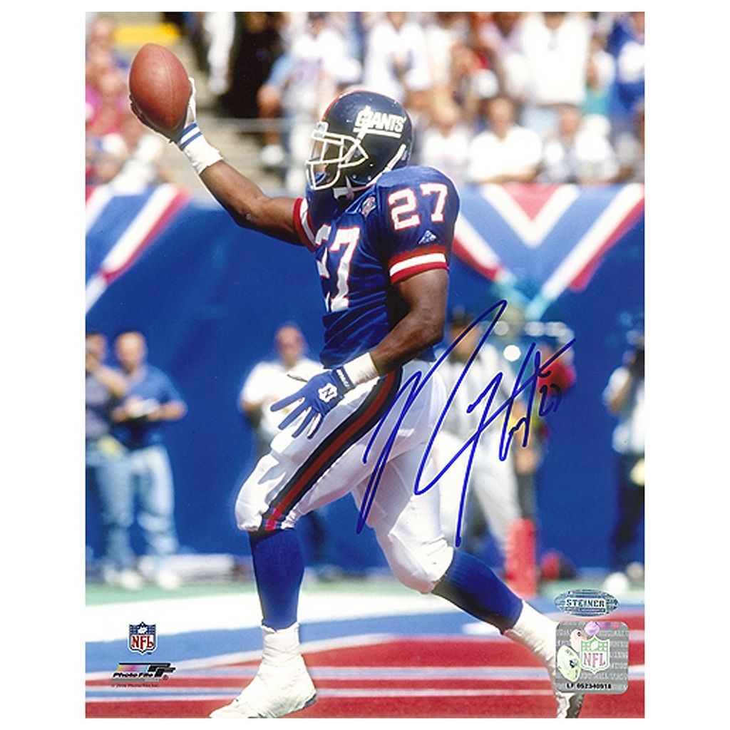 Steiner Sports Rodney Hampton TD Celebration 8'' x 10'' Signed Photo