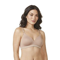 a6f04d3d6af8c Warner s Bra  Cloud 9 Full-Coverage Wire-Free Contour Bra 01269 - Women s.  Graphic Gray White Toasted Almond ...