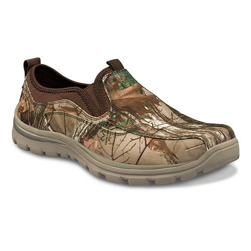 Skechers Relaxed Fit Malen Camouflage Slip On Shoes Men