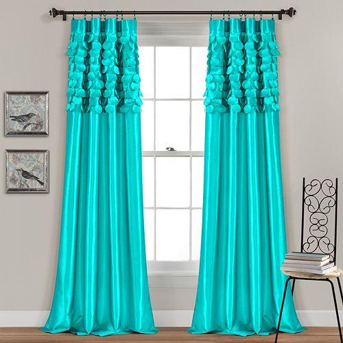 Lush Decor 2-pack Circle Dream Window Curtains