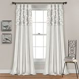Lush Decor 2-pack Circle Dream Window Curtains