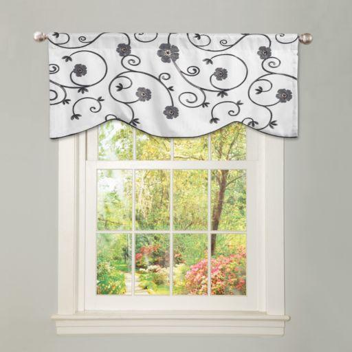 "Lush Decor Royal Garden Window Valance - 42"" x 18"""