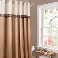 Lush Decor Terra Fabric Shower Curtain