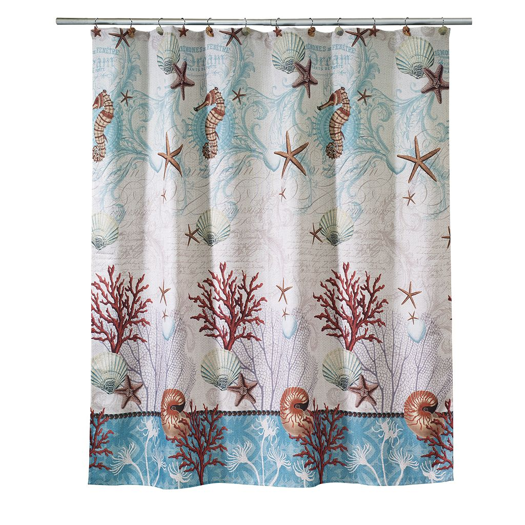 Barbados Fabric Shower Curtain