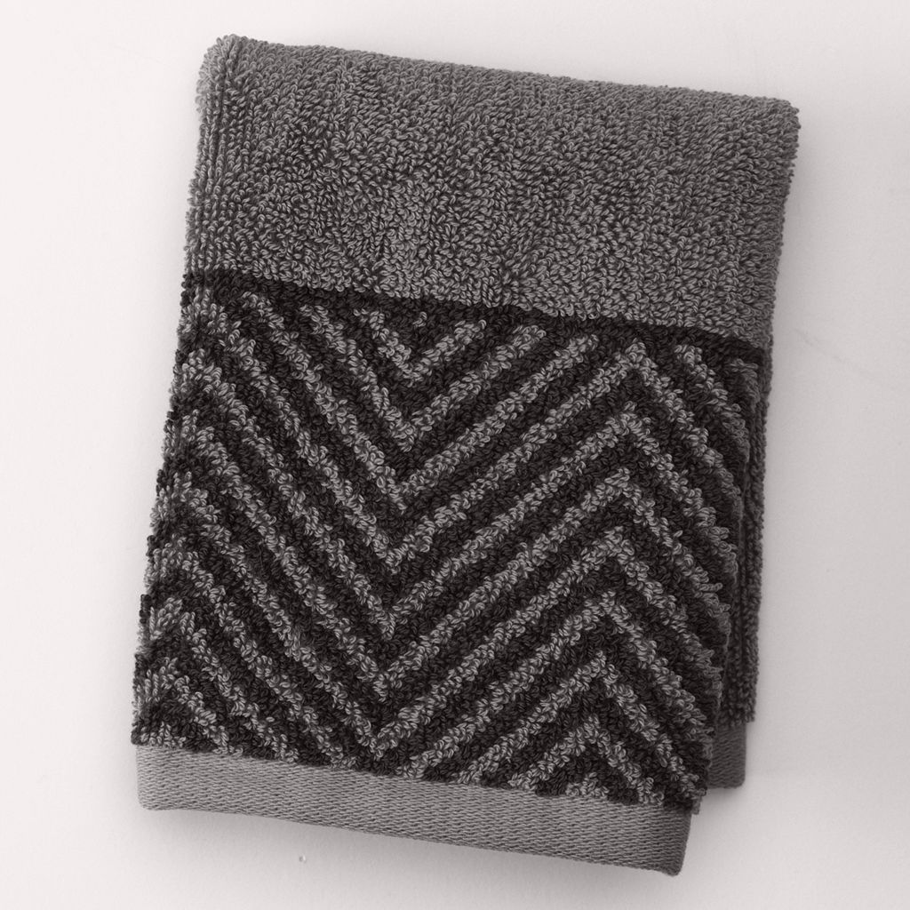 Apt. 9® Highly Absorbent Chevron Washcloth