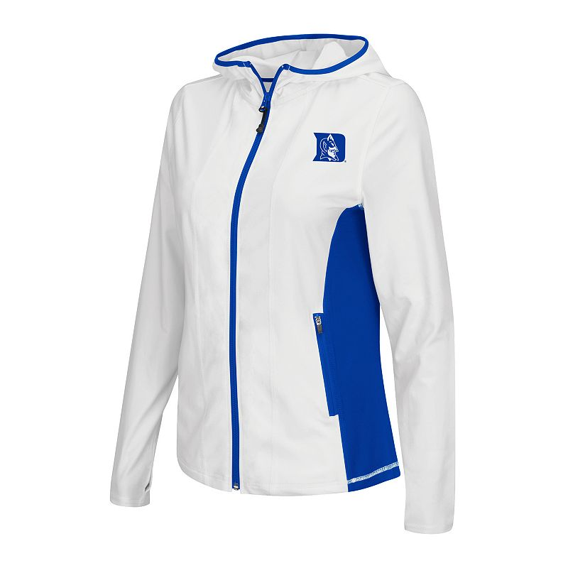 Colosseum Duke Blue Devils Essential Fitness Hooded Jacket - Women's