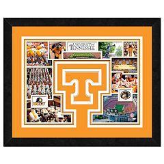 Tennessee Volunteers Framed Milestones and Memories 11' x 14' Wall Art