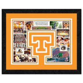 Tennessee Volunteers Framed Milestones and Memories 11'' x 14'' Wall Art