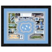 "North Carolina Tar Heels Framed Milestones and Memories 11"" x 14"" Wall Art"