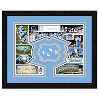 North Carolina Tar Heels Framed Milestones and Memories 11