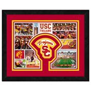 USC Trojans Framed Milestones and Memories 11' x 14' Wall Art