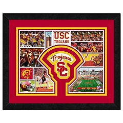 USC Trojans Framed Milestones and Memories 11' x 14' Wall Art