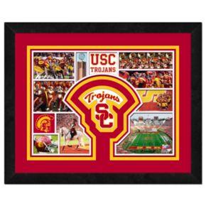 USC Trojans Framed Milestones and Memories 11'' x 14'' Wall Art