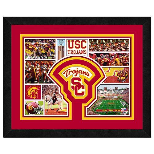 USC Trojans Framed Milestones and Memories 11