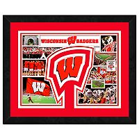 Wisconsin Badgers Framed Milestones and Memories 11