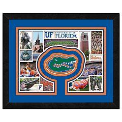 Florida Gators Framed Milestones and Memories 11' x 14' Wall Art
