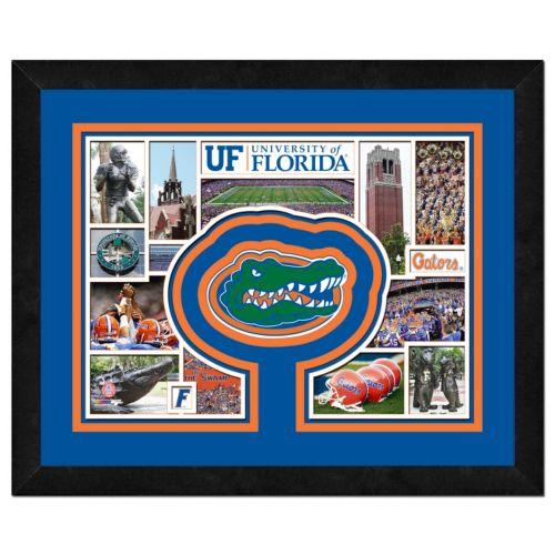 Florida Gators Framed Milestones and Memories 11″ x 14″ Wall Art