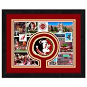 Florida State Seminoles Framed Milestones and Memories 11' x 14' Wall Art