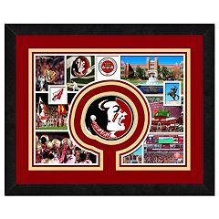 Florida State Seminoles Framed Milestones and Memories 11' x 14' Wall Art