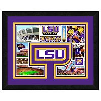 LSU Tigers Framed Milestones and Memories 11