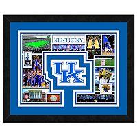 Kentucky Wildcats Framed Milestones and Memories 11