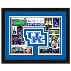 Kentucky Wildcats Framed Milestones and Memories 11' x 14' Wall Art