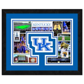 Kentucky Wildcats Framed Milestones and Memories 11'' x 14'' Wall Art