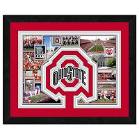 Ohio State Buckeyes Framed Milestones and Memories 11