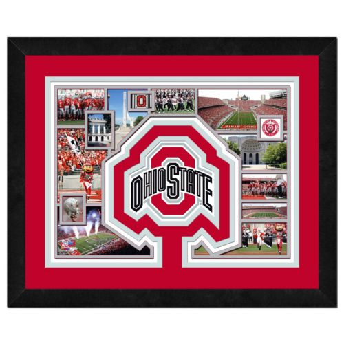 Ohio State Buckeyes Framed Milestones and Memories 11'' x 14'' Wall Art