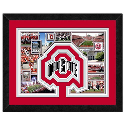 Ohio State Buckeyes Framed Milestones and Memories 11