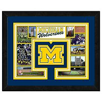 Michigan Wolverines Framed Milestones and Memories 11